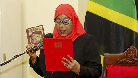 Samia Suluhu, primera mujer presidenta de Tanzania
