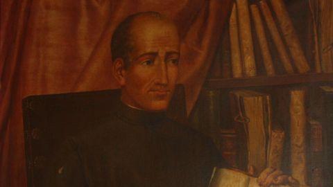 Retrato do Doutor Castro que se atopa no salón de plenos de Lugo