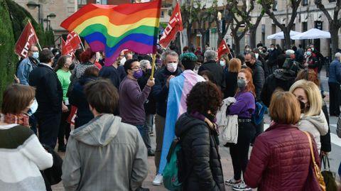 Concentración en Murcia «Stop fascismos. La educación y la cultura no se venden» contra la decisión de que una exdiputada de Vox se encargue de Educación