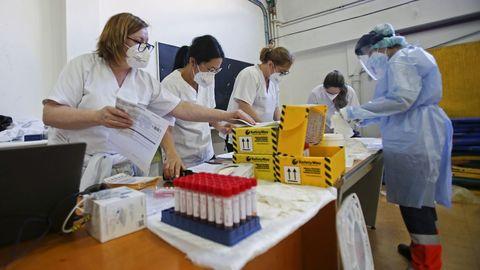 El número de PCR disminuyó notablemente