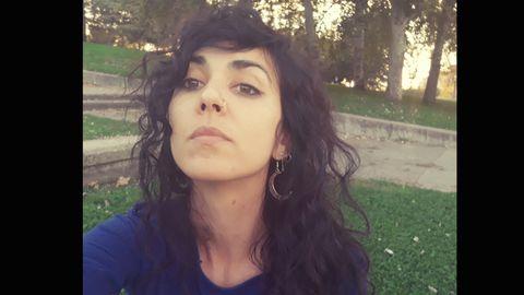 La poeta gallega Alicia Louzao