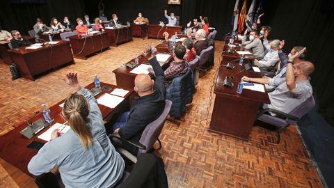 Los concejales del gobierno local de Pontevedra (BNG-PSOE) votan declarar a Ignacio de Colmenares como «persona non grata»