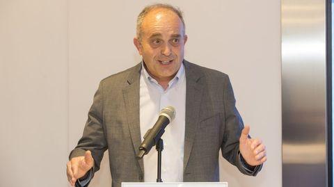 Luis García, director de la EFA Fonteboa de Coristanco