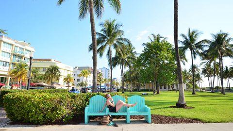 En South Beach, Miami, en el 2016