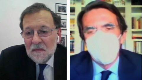 Declaran Aznar y Rajoy como testigos en el caso del presunto pago con la caja B del PP de las obras en Génova