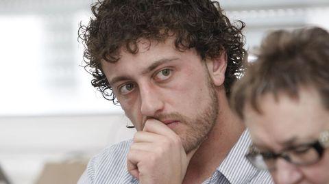 Roi Rigueira, portavoz del PSOE en la corporación local de Taboada