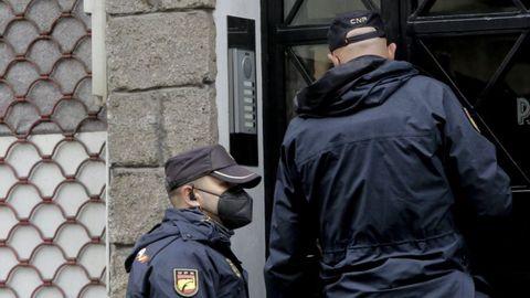 Imagen de archivo de una actuación de la Policía Nacional