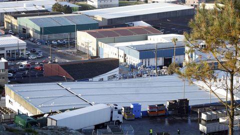 Polígono industrial de Ribeira