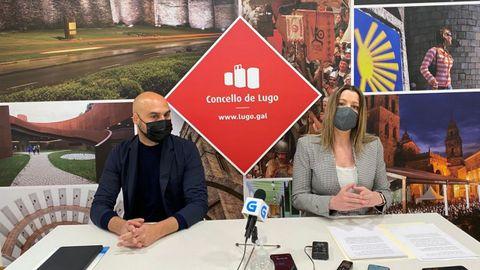 A la izquierda, Mauricio Repetto y a la derecha, Lara Méndez