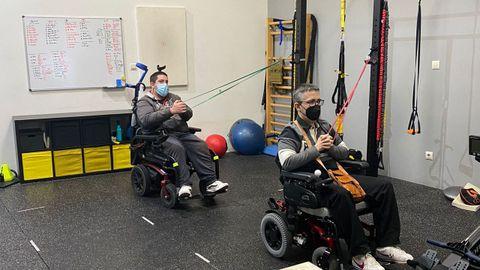 Actividad deportiva para personas con discapacidad de Amizade