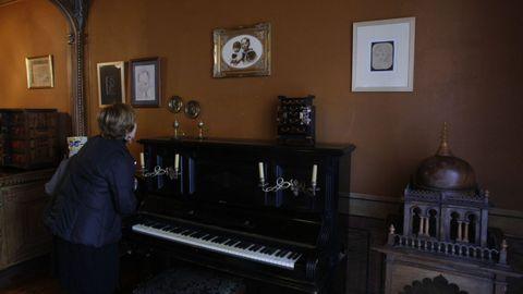 Imagen de la casa-museo de Vicente Risco