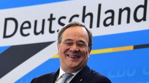 El líder de la CDU, Armin Laschet, comenzó un rumbo propio hacia las elecciones