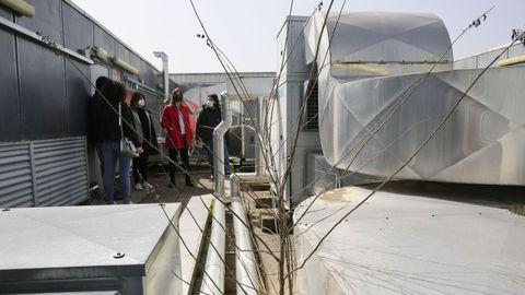 En la azotea están situados varios equipamientos pendientes de comprobar si funcionan