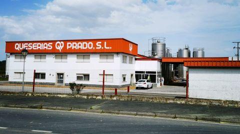 La quesería se encuentra situada a poca distancia de la fábrica adquirida por el grupo chino