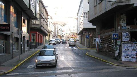 Unha rúa do centro de Vilalba leva o nome do poeta Chao Ledo