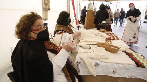 A mostra Artesanía Viva comezou este sábado en Lugo