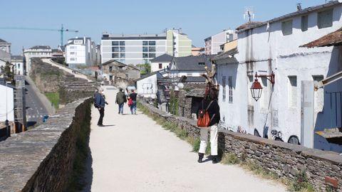 La jornada de ayer tuvo poca animación en Lugo
