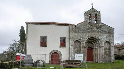 El palacio de Diomondi está en obras para ser albergue de peregrinos