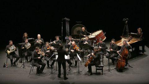 Imagen de archivo de un concierto en el teatro Rosalía de Castro