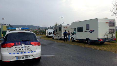 La Policía Local intensificará la vigilancia sobre autocaravanas