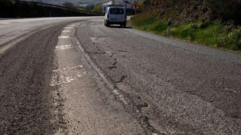 El desgaste de la vía es general en sus 98 kilómetros