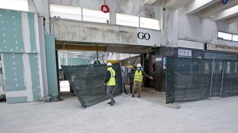Obras de la estación intermodal