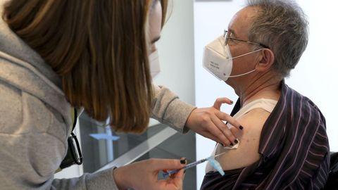 Vacunación este martes en la Cidade da Cultura de Santiago de Compostela