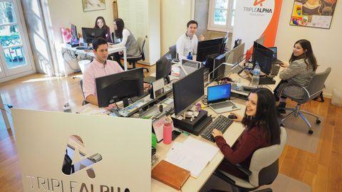 Triple Alpha trabaja para empresas de toda España desde Padrón