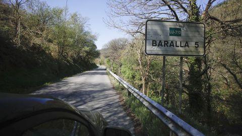 La carretera entre Baralla y la A-6 en Neira de Rei tiene 5 kilómetros