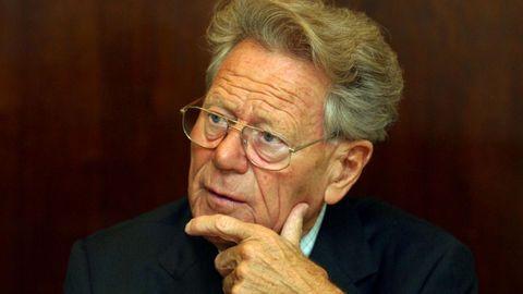 El teólogo Hans Küng (Sursee, Suiza, 1928), en una visita a Madrid en el 2003