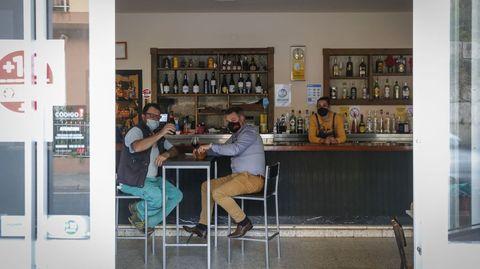 Muchos quisieron volver al bar Celta en el día del fin de las restricciones más duras