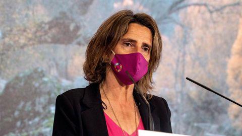 El controvertido artículo elaborado por el Ministerio de Transición Ecológica, que preside Teresa Ribera, en una foto de archivo