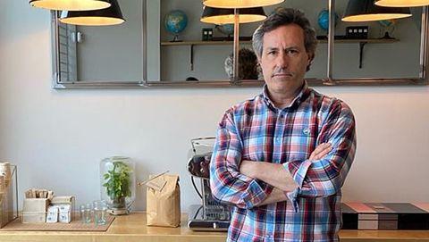 Gustavo Cascón, uno de los socios de Verdadero Café