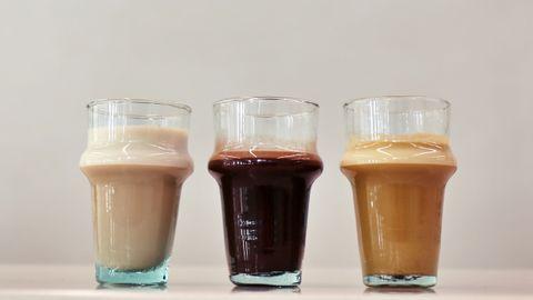 Vasos de vidrio en las máquinas de vending de Verdadero Café