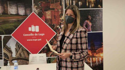 Lara Méndez anunció esta mañana los cambios en su gobierno