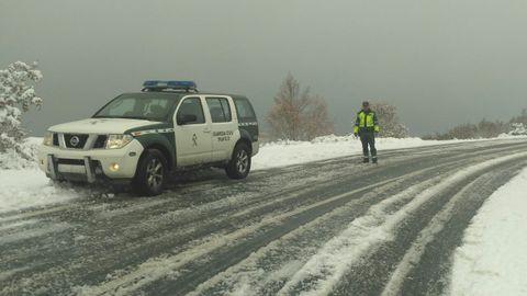 El accidente tuvo lugar en la carretera del Alto do Covelo