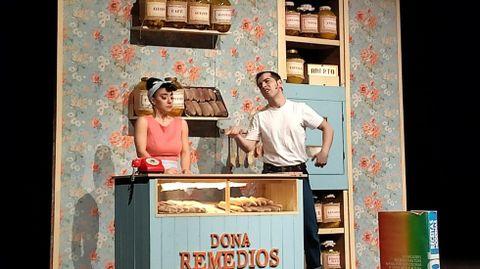 Teatro Avento actúa en el Gustavo Freire.