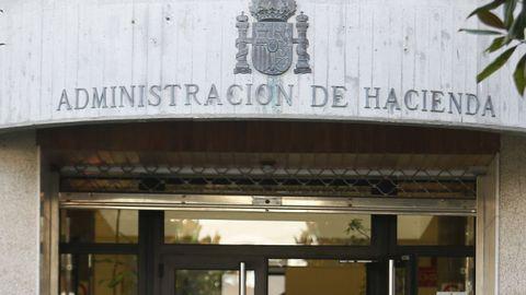 Imagen de archivo de la Delegación de Hacienda en Foz