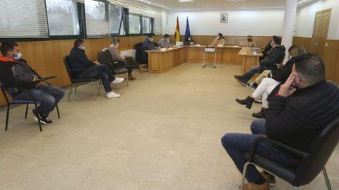 Pleno celebrado en el mes de marzo en Ponteceso