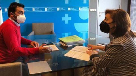Anta y Vázquez, reunidos en Santiago