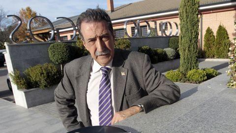 El escritor gallego afincado en Madrid Vicente Araguas