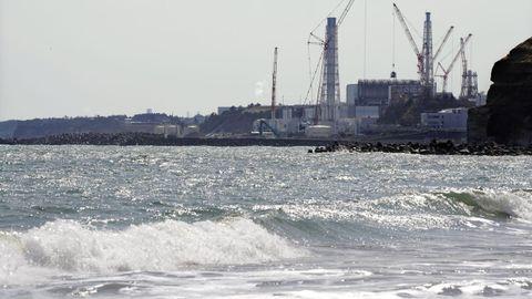 Imagen de la central nuclear de Fukushima
