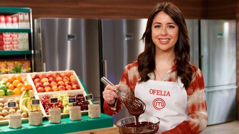 Ofelia, concursante gallega de «MasterChef 9»