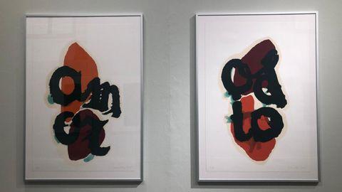 Exposición Estampa y Palabra, de Bernardo Sanjurjo