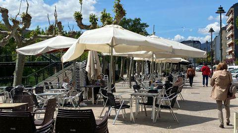 A partir del viernes la hostelería de O Barco solo podrá servir en terraza