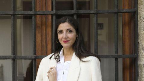 La escritora de raíces gallegas Espido Freire (Bilbao, 1974)