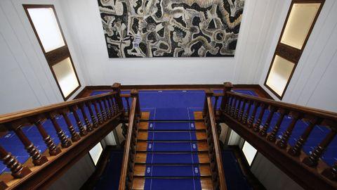 Escalinata principal del Pazo Provincial