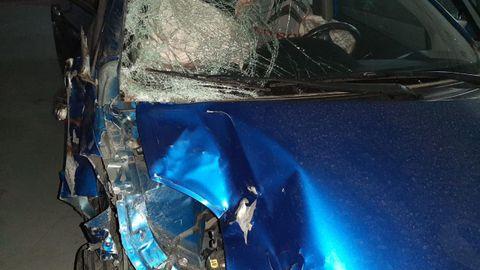 El coche podría ser declarado siniestro total, por los daños sufridos