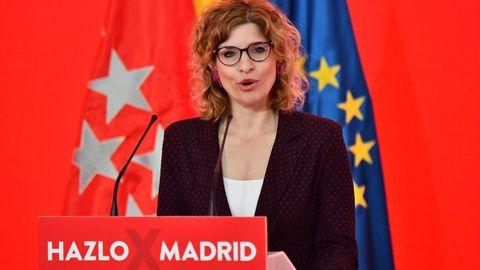 La número dos de la candidatura del PSOE a la Comunidad de Madrid, Hana Jalloul, fue secretaria de estado de Migraciones