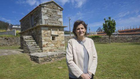 Rosario Fernández, jefa del servicio de Patrimonio Cultural